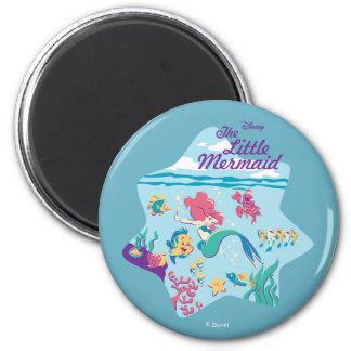 The Little Mermaid & Friends Magnet