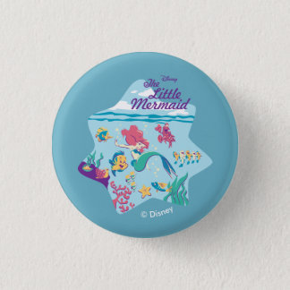 The Little Mermaid & Friends Pinback Button