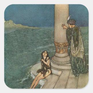 The Little Mermaid Square Sticker