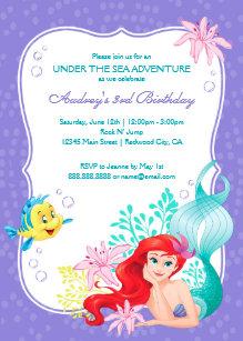 Disney Little Mermaid Gifts On Zazzle