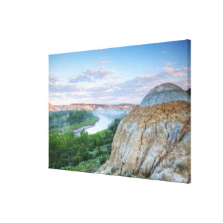 The Little Missouri River at the Little Canvas Print