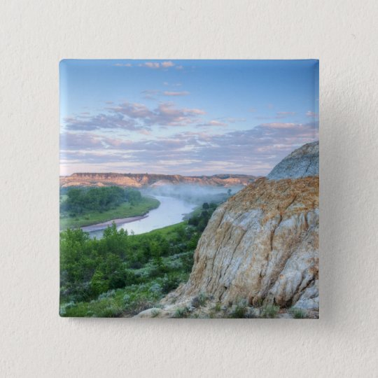 The Little Missouri River at the Little Pinback Button