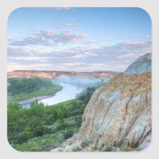 The Little Missouri River at the Little Square Sticker