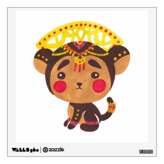 monkey wall decals amp wall stickers zazzle banksy vinyl wall decal monkey with headphones colorful