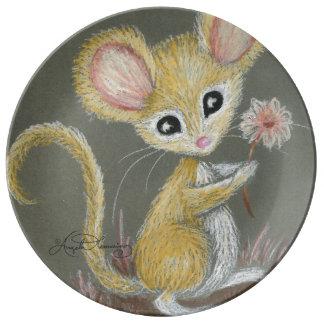 The Little Mouse Porcelain Plates