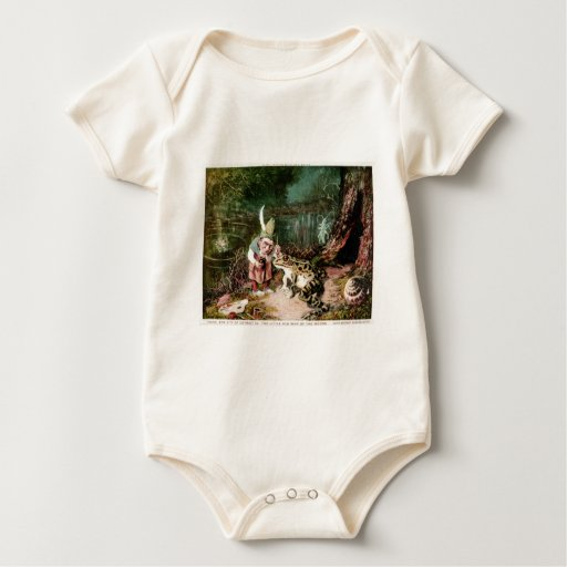 The Little Old Man of the Woods Mural Vintage Bodysuit