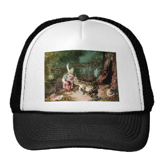 The Little Old Man of the Woods Mural Vintage Trucker Hat