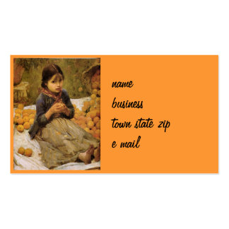 The Little Orange Gatherer Business Card