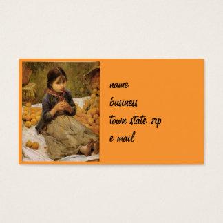 The Little Orange Gatherer Business Card