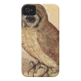 The Little Owl by Albrecht Durer iPhone 4 Cover