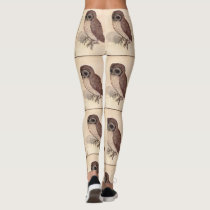 The Little Owl by Durer Leggings