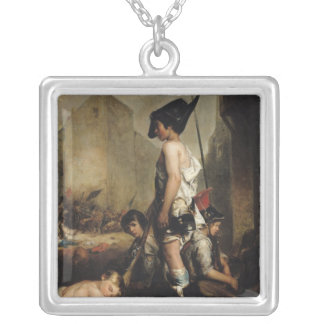 The Little Patriots, 1830 Silver Plated Necklace