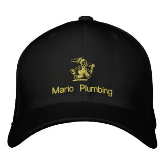 The Little Plumber Embroidered Hat