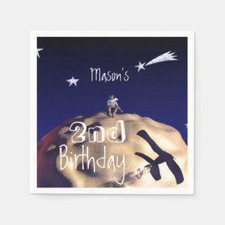 THE LITTLE PRINCE 2nd Birthday Paper napkins