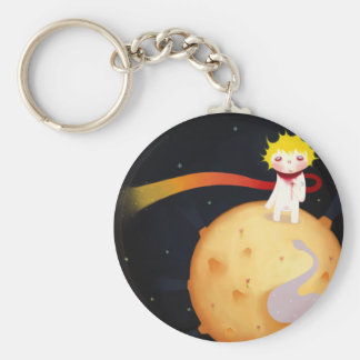The Little Prince Basic Round Button Keychain