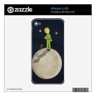 The Little Prince Skins For iPhone 4
