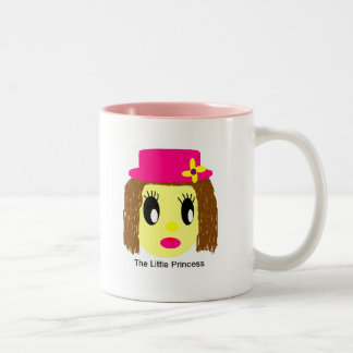 the little princess Two-Tone coffee mug