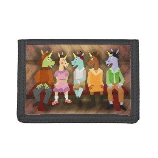 The Little Rascal Unicorns Tri-fold Wallet