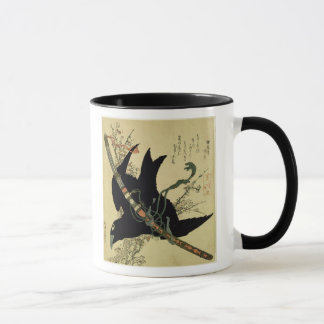 The Little Raven with the Minamoto clan sword Mug