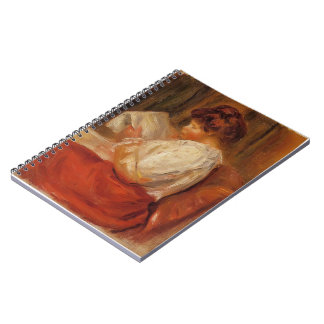 The Little Reader by Pierre-Auguste Renoir Note Book