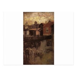 The Little Red House by James McNeill Whistler Postcard