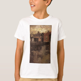 The Little Red House by James McNeill Whistler T-Shirt