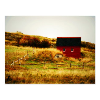 The Little Red House Postcard