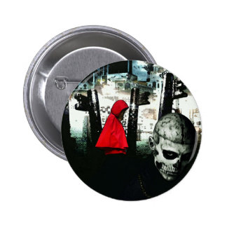 The Little Red Riding Hood - 2 Inch Round Button