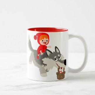The Little red Riding Hood and The Wolf Mug