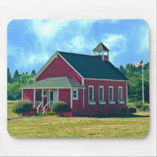 The Little Red Schoolhouse mouse pad