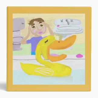 The Little Rubber Ducky Sings Opera Vinyl Binders