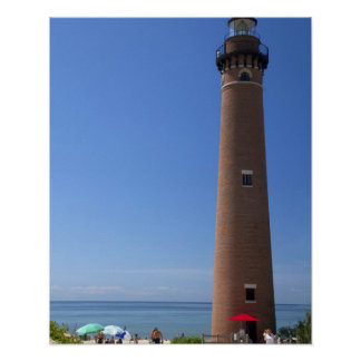 The Little Sable Point Light on Lake Michigan 2 Poster