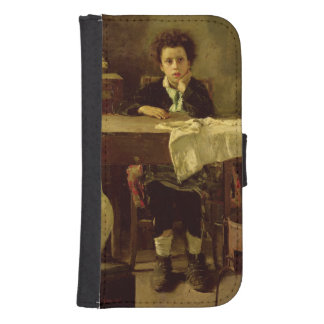 The Little Schoolboy, or The Poor Schoolboy Wallet Phone Case For Samsung Galaxy S4
