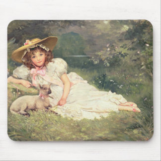 The Little Shepherdess Mouse Pad