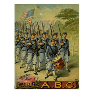 The Little Soldiers Post Card