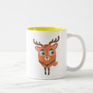 The Little Star Deer Character Mug