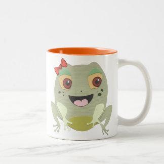 The Little Star Frog Character Mug