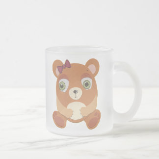 The Little Star Frosted Bear Character Mug