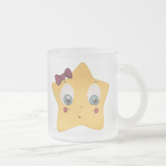 The Little Star Frosted Glass Character Mug