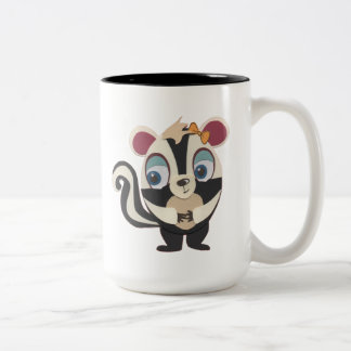 The Little Star Jumbo Character Skunk Mug