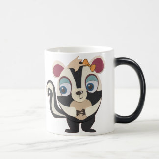 The Little Star Morphing Character Skunk Mug