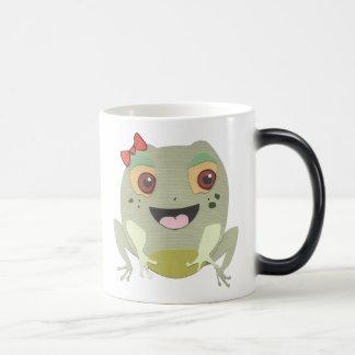 The Little Star Morphing Frog Character Mug