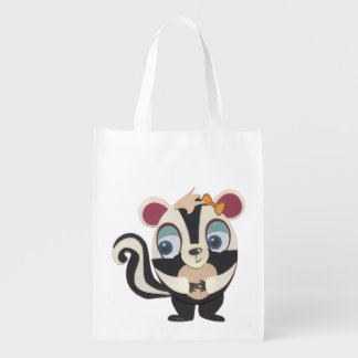 The Little Star Skunk Grocery Tote