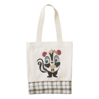 The Little Star Skunk Heart Tote