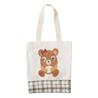 The Little Star Teddy Bear Tote