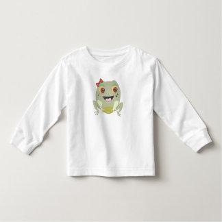 The Little Star Toddler Frog Shirt