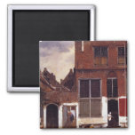The Little Street 2 Inch Square Magnet