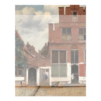 The Little Street by Johannes Vermeer Custom Flyer