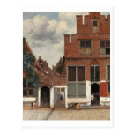 The Little Street by Johannes Vermeer Post Card