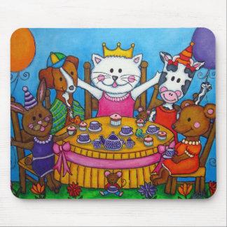 The Little Tea Party Mousepad